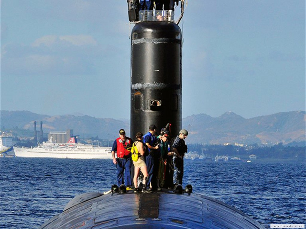 USS Alexandria (SSN-757) in the Med 2012.