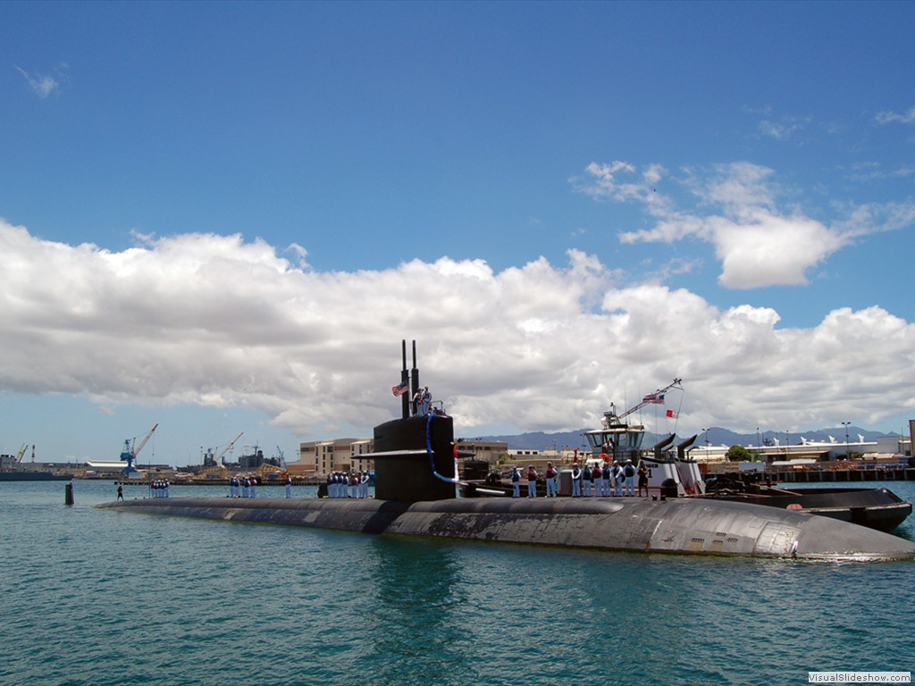 USS Chicago (SSN-721) Naval Station Pearl Harbor